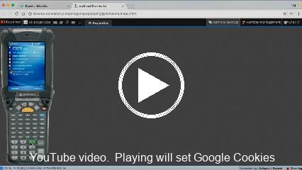 YouTube video.  Playing will set Google Cookies